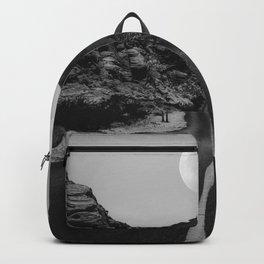 Road Moon BW Backpack