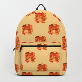 Pancake pile pattern Backpack