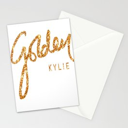 Kylie Minogue - Golden Stationery Cards