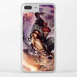 Akuma - Street Fighter Clear iPhone Case