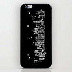 San Francisco, California City Skyline iPhone & iPod Skin