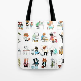 Dogs with Jobs (Everybody!) Tote Bag