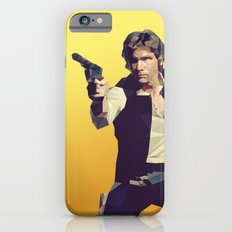 Going Somewhere Solo? - Low Poly Han iPhone 6s Slim Case