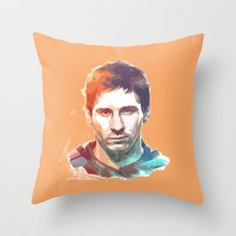 Messi Cool Throw Pillow
