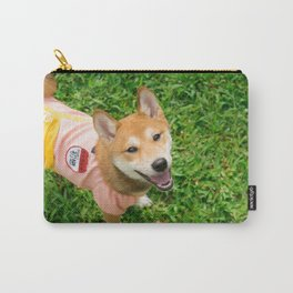 shiba Carry-All Pouch