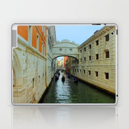 Bridge of Sighs, Venice, Italy,  in the late afternoon sun. Laptop & iPad Skin