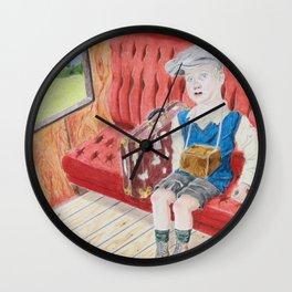 Evacuee Child Wall Clock