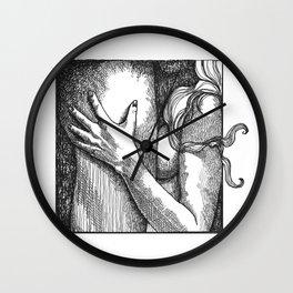 mature/felatio/blowjob/erotic/erotica/eroticillustration/porn/cock/sex/art/pornart Wall Clock