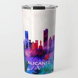 Alicante Skyline Travel Mug