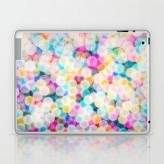 Rainbow Bokeh Laptop & iPad Skin