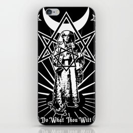 Aleister Crowley - Do What Thou Wilt iPhone Skin