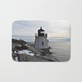 Castle Hill Lighthouse, Newport Rhode Island Bath Mat