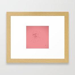 BILL HAVERCHUCK // FREAKS AND GEEKS Framed Art Print