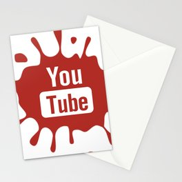 youtube youtuber - best designf or YouTube lover Stationery Cards