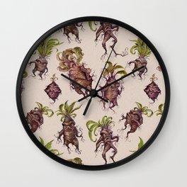 Mandrake Melodrama Wall Clock