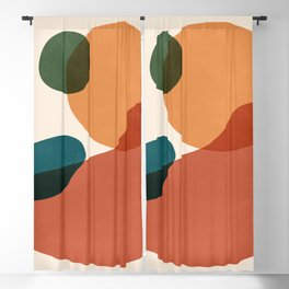 Abstract Shapes 27 Blackout Curtain