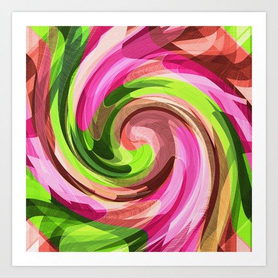 Pistachio Cream Art Print