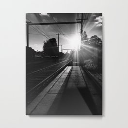 SUNDOWN SYNDROME: THE CRUX OF THE MATTER Metal Print