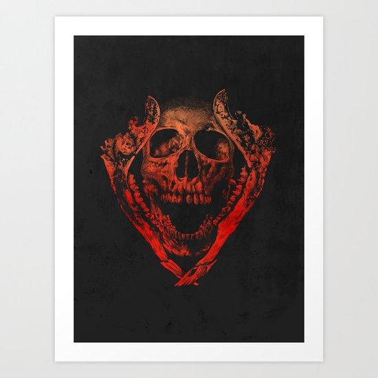 JAWZ2 Art Print