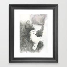 let the bad out Framed Art Print