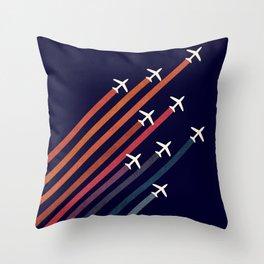 Aerial acrobat Throw Pillow