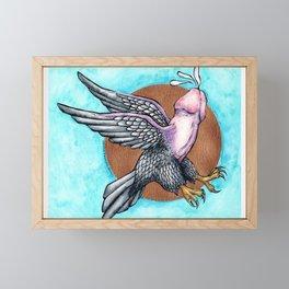 Flying Fuck Framed Mini Art Print
