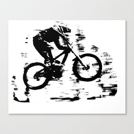 mtb downhill Canvas Print