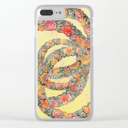 The consolation in a flower Clear iPhone Case