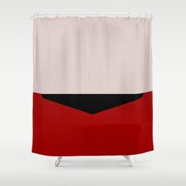 Scotty - Minimalist Star Trek TOS The Original Series - Montgomery Scott  - startrek - Trektangles Shower Curtain