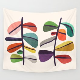 Plant specimens Wall Tapestry