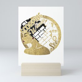 I'm A Scorpius Woman I Have 3 Side The Quiet & Sweet The Fun & Crazy And The Side You Never Want To See Mini Art Print