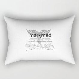 Mermaid Defined Rectangular Pillow