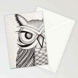 Ossabaw Natives : Owl Stationery Cards