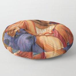 Faust's Friend Floor Pillow