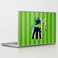 luffy Laptop & iPad Skins featuring OP Pony Luffy by AbigailC