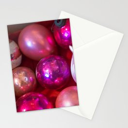 Pink Christmas Stationery Cards