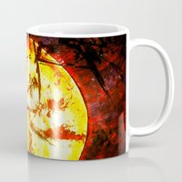 sunrise Mugs featuring Sunrise by James Peart