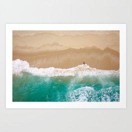 Peace to the Sea Art Print