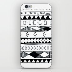 Rivers & Robots Pattern iPhone & iPod Skin