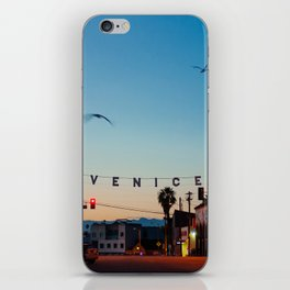 Venice Beach California Sunrise iPhone Skin