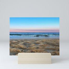 Pink Ocean Sunset Mini Art Print