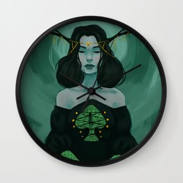 Queen of Spades Wall Clock
