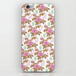 Floral Hamsa iPhone Skin