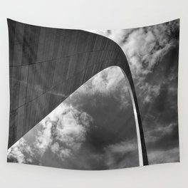 Gateway arch in St-Louis Wall Tapestry