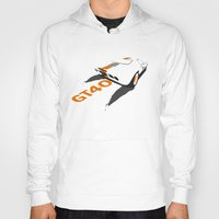 ford Hoodies featuring Ford GT40 by VelocityGallery
