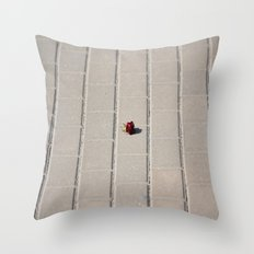 Lonely Flower Throw Pillow