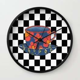 Cup And Saucer Wall Clock