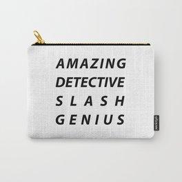 AMAZING DETECTIVE SLASH GENIUS Carry-All Pouch
