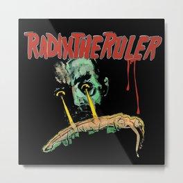 Radix The Ruler Metal Print