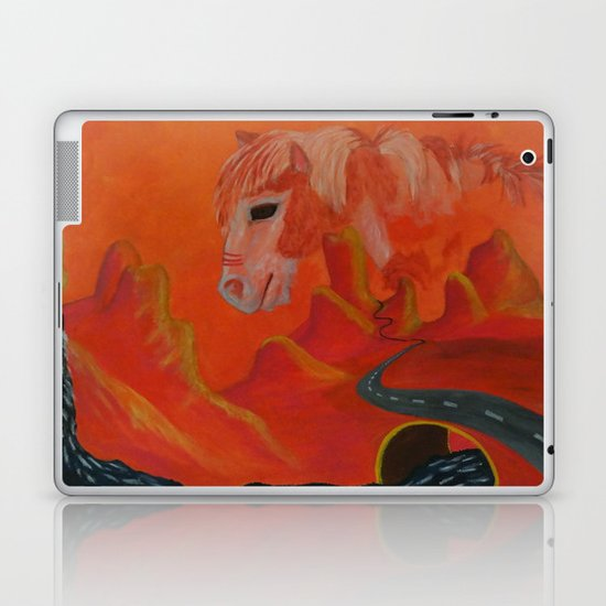 Horse Without a Name Laptop & iPad Skin